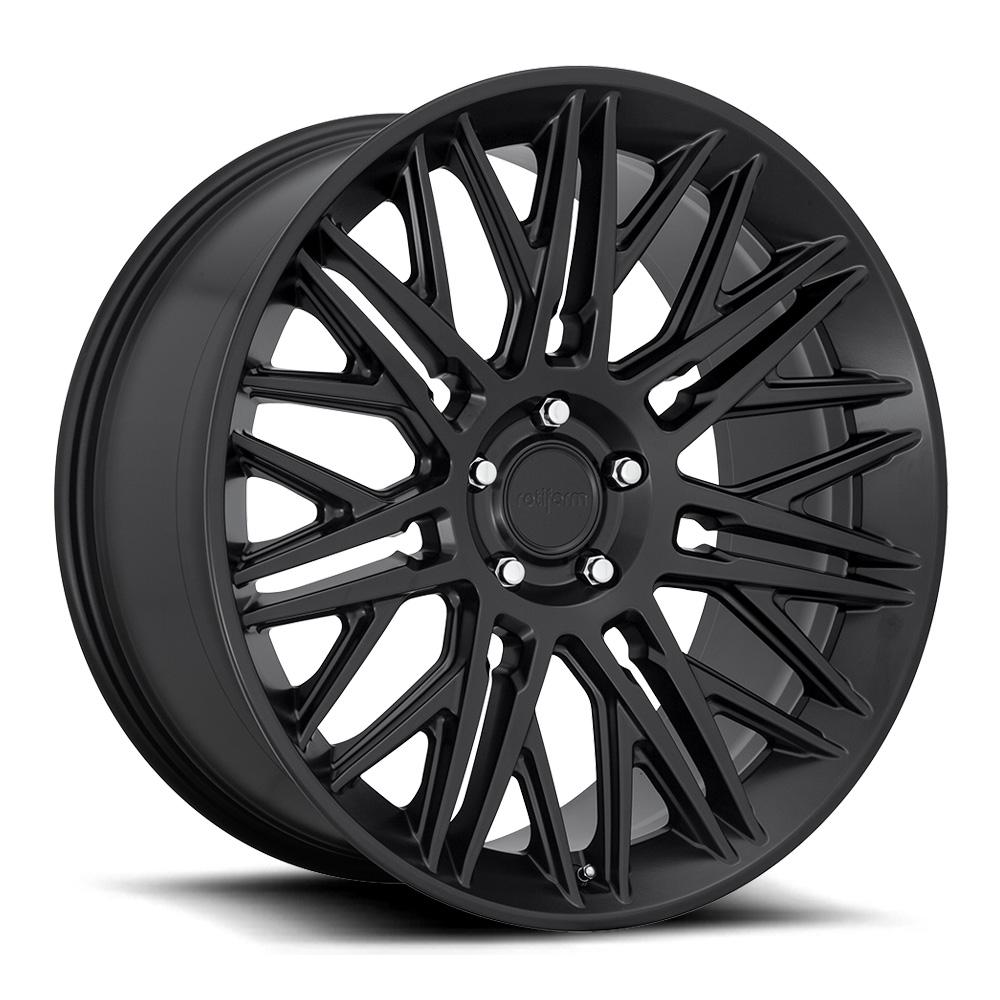 Rotiform Wheels JDR R164 - Matte Black Rim