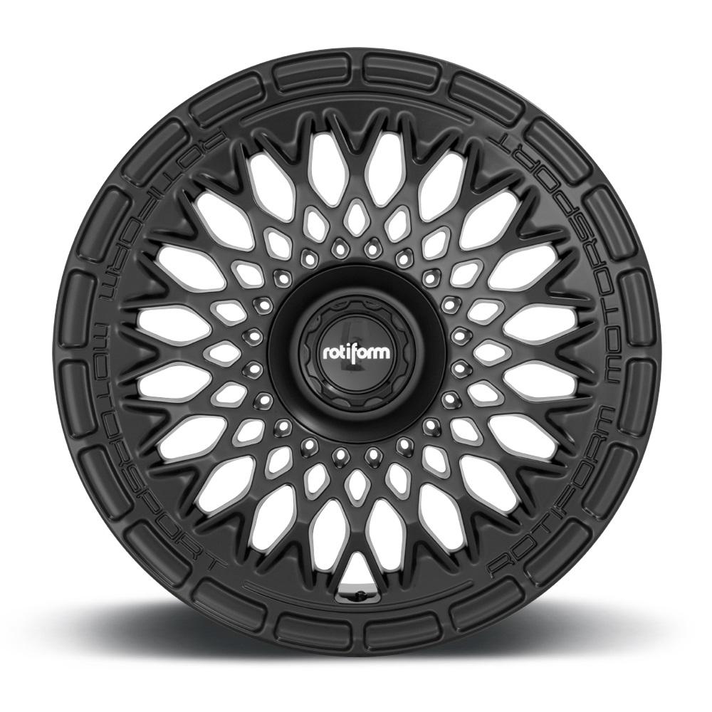 Rotiform Wheels LHR-M R174 - Satin Black Rim