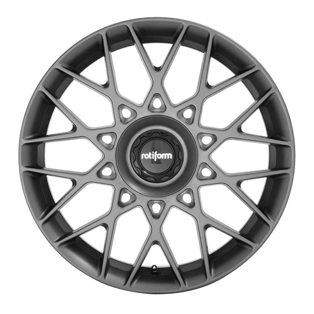 Rotiform Wheels BLQ-C R166 - Matte Anthracite Rim