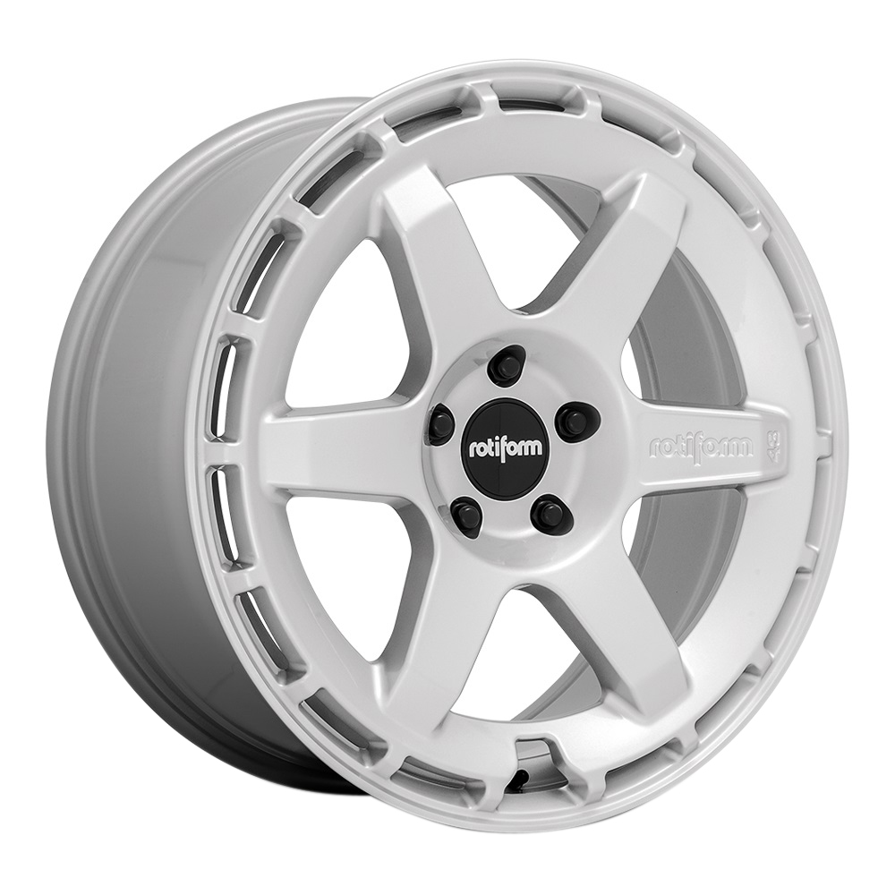 Rotiform Wheels KB1 R184 - Gloss Silver Rim