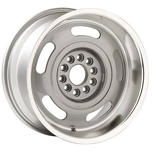 Yearone Wheels Corvette Rallye - Silver with machined lip Rim