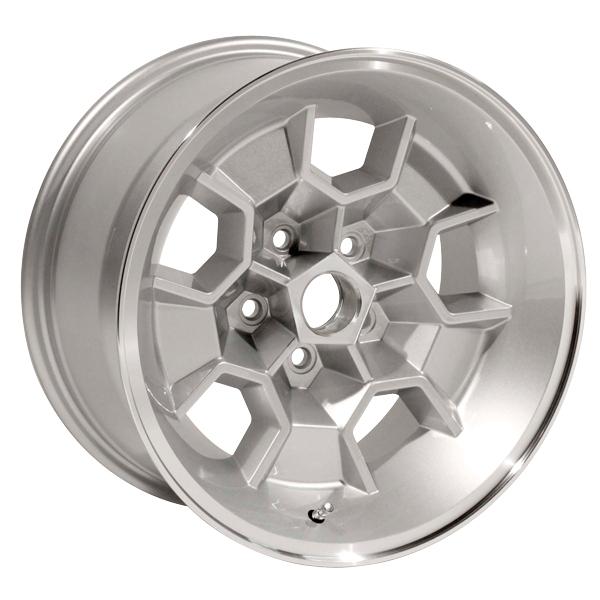 Yearone Wheels Honeycomb - Silver powder coated with machined lip Rim