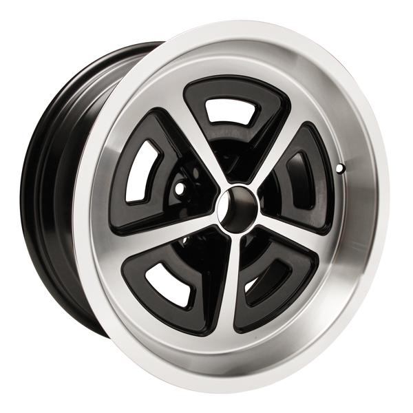 Yearone Wheels Magnum Ford Mopar - Black Powder Coated / Machined Lip Rim