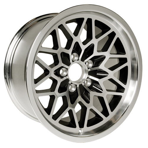 Yearone Wheels Snowflake - Black painted recesses