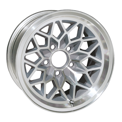 Yearone Wheels Snowflake - Silver painted recesses Rim