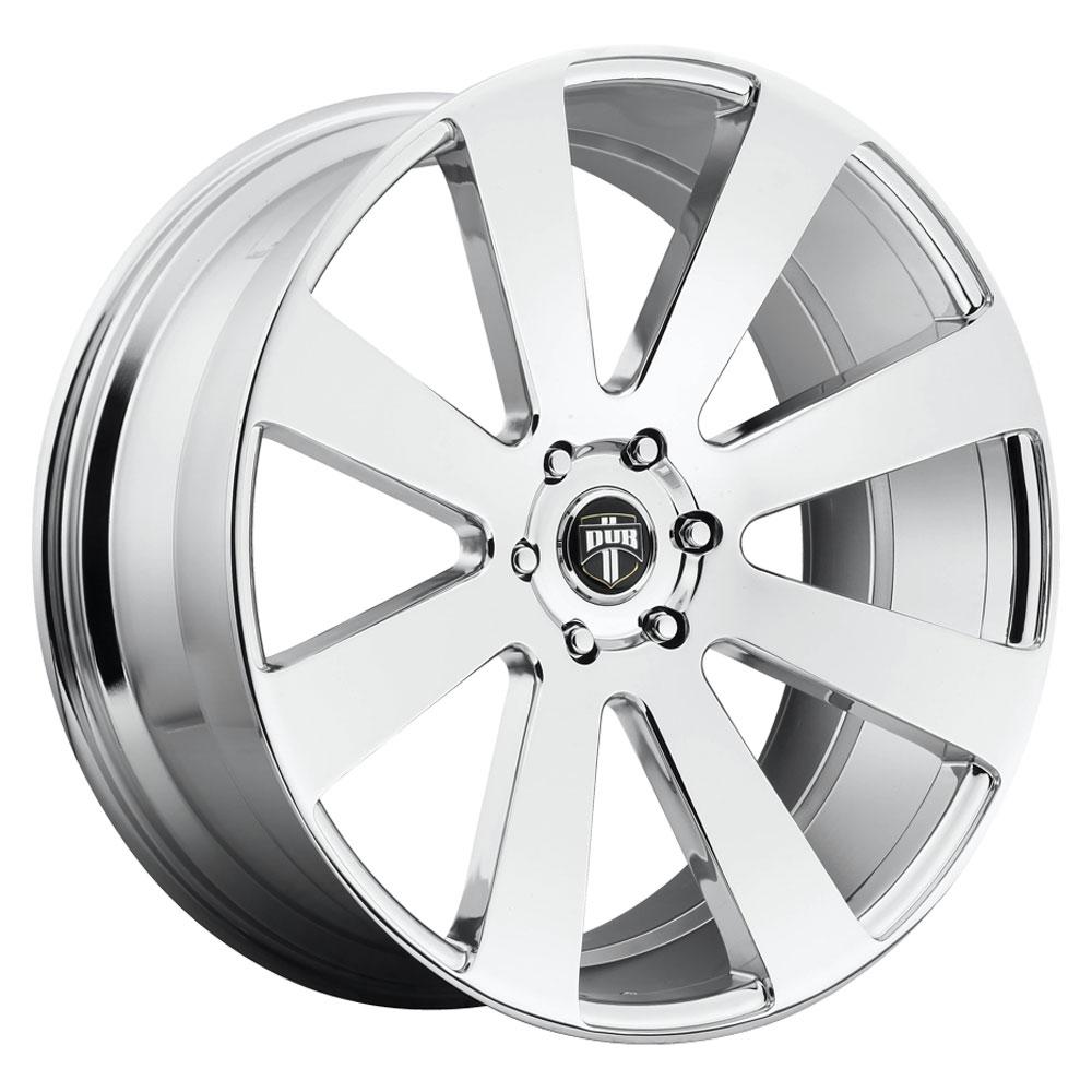 DUB Wheels 8 Ball (S131) - Chrome Rim