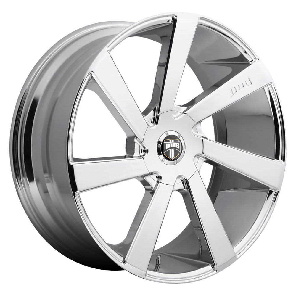 DUB Wheels Directa (S132) - Chrome Rim
