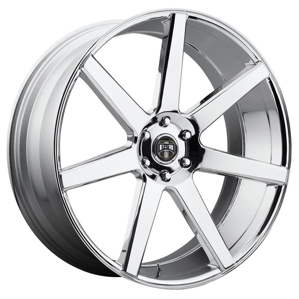 DUB Wheels Future (S126) - Chrome Rim
