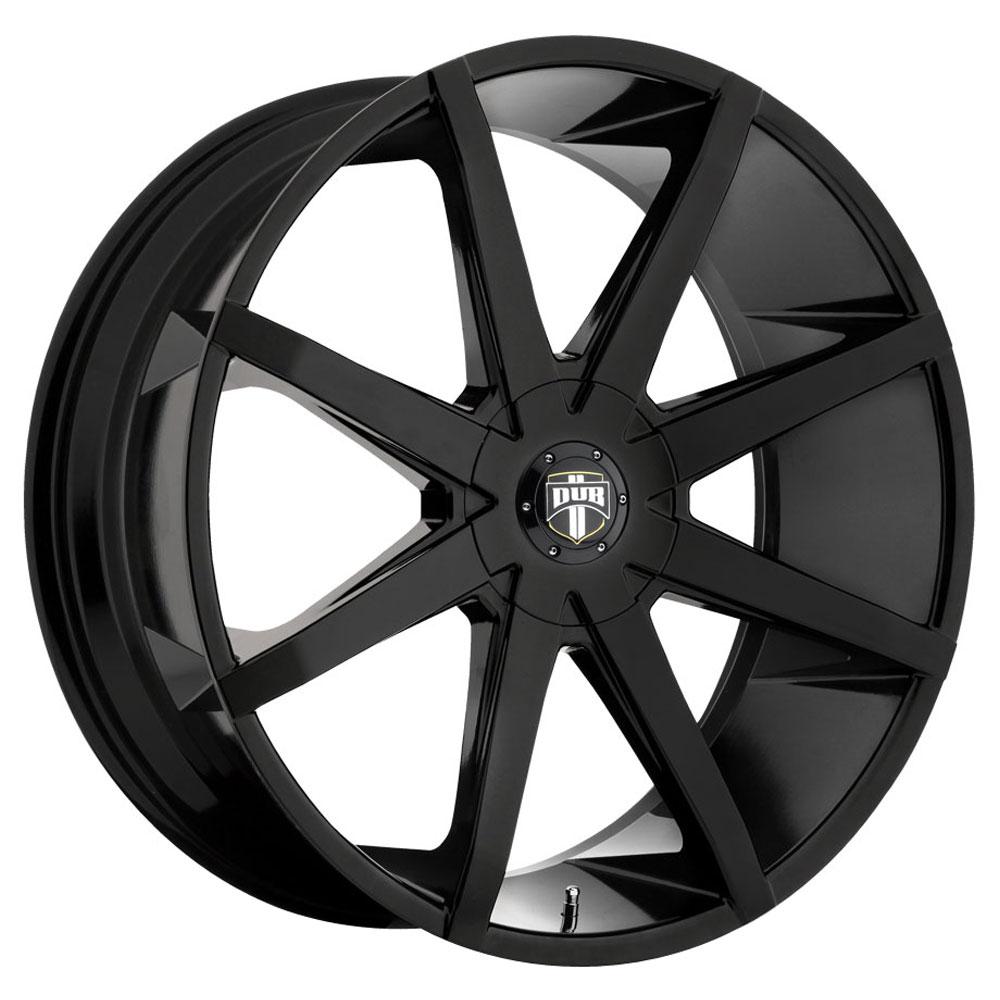 DUB Wheels Push (S110) - Gloss Black Rim