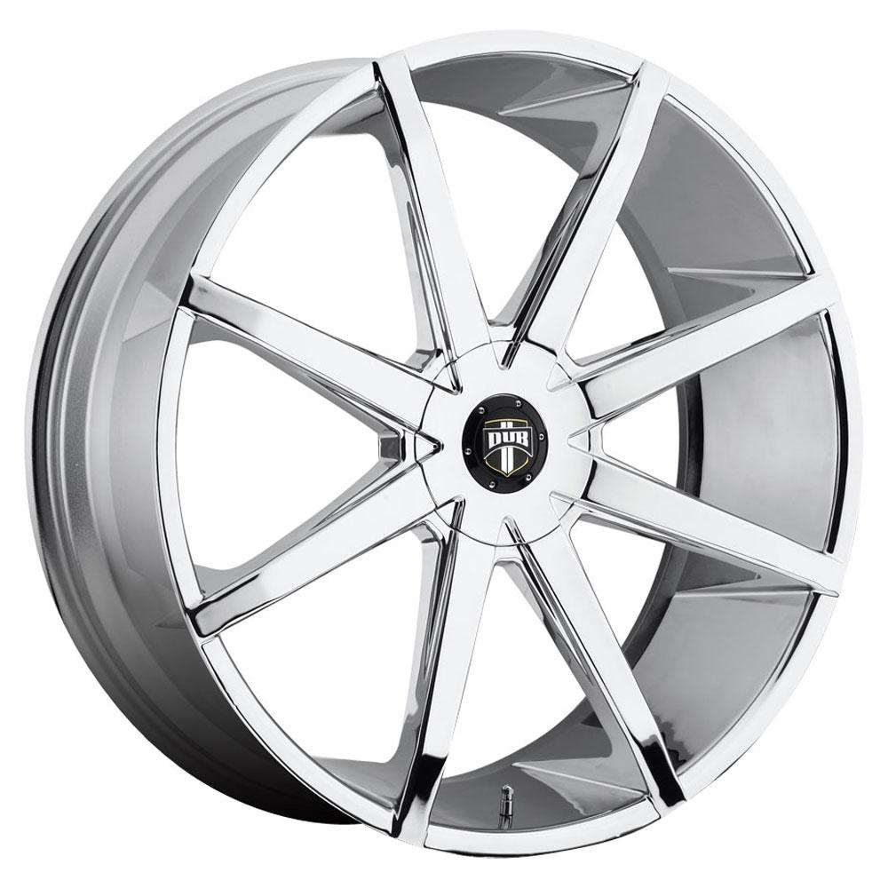 DUB Wheels Push (S201) - Chrome Rim