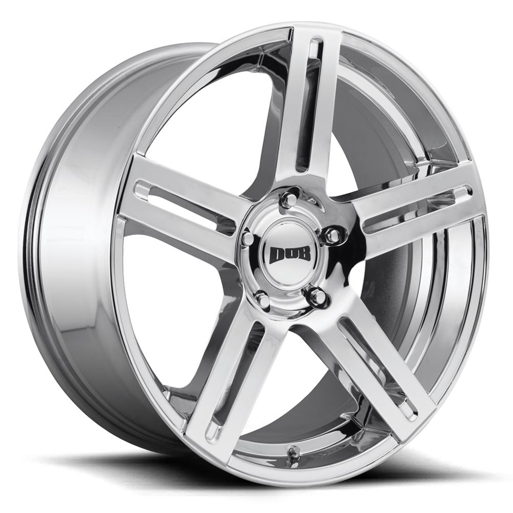DUB Wheels ROC (S249) - Chrome Rim