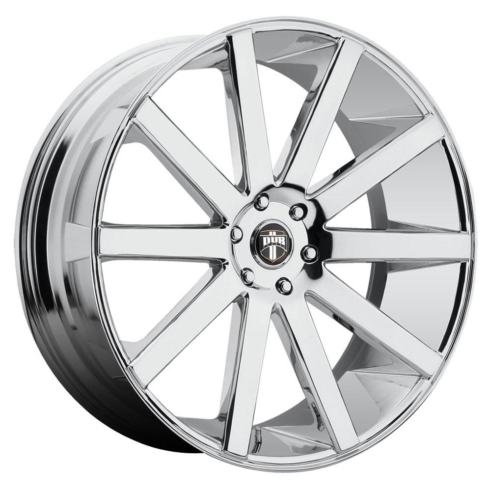 DUB Wheels Shot Calla (S120) - Chrome Rim - 30x10