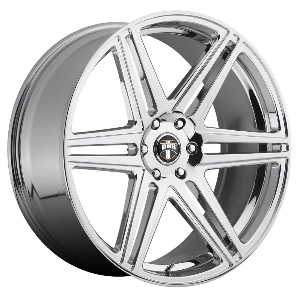 DUB Wheels Skillz (S122) - Chrome Rim