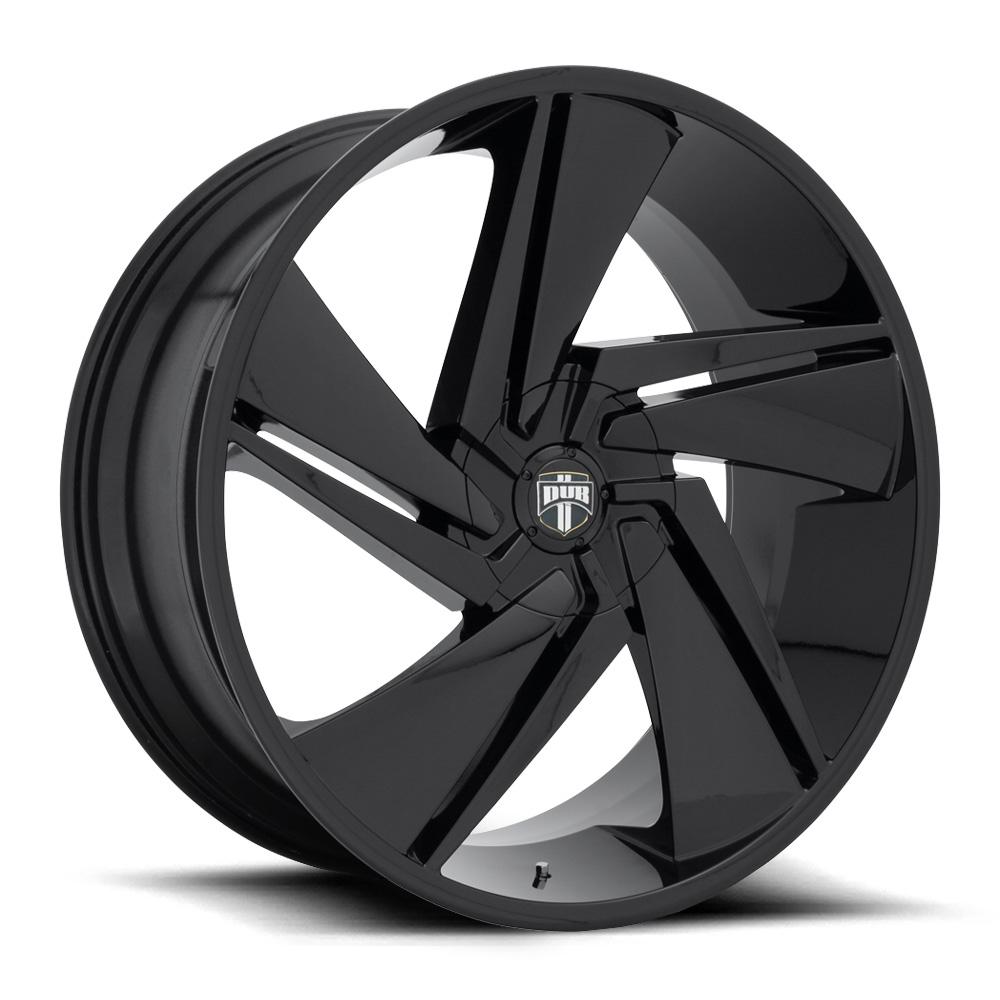 DUB Wheels Fade (S247) - Gloss Black Rim