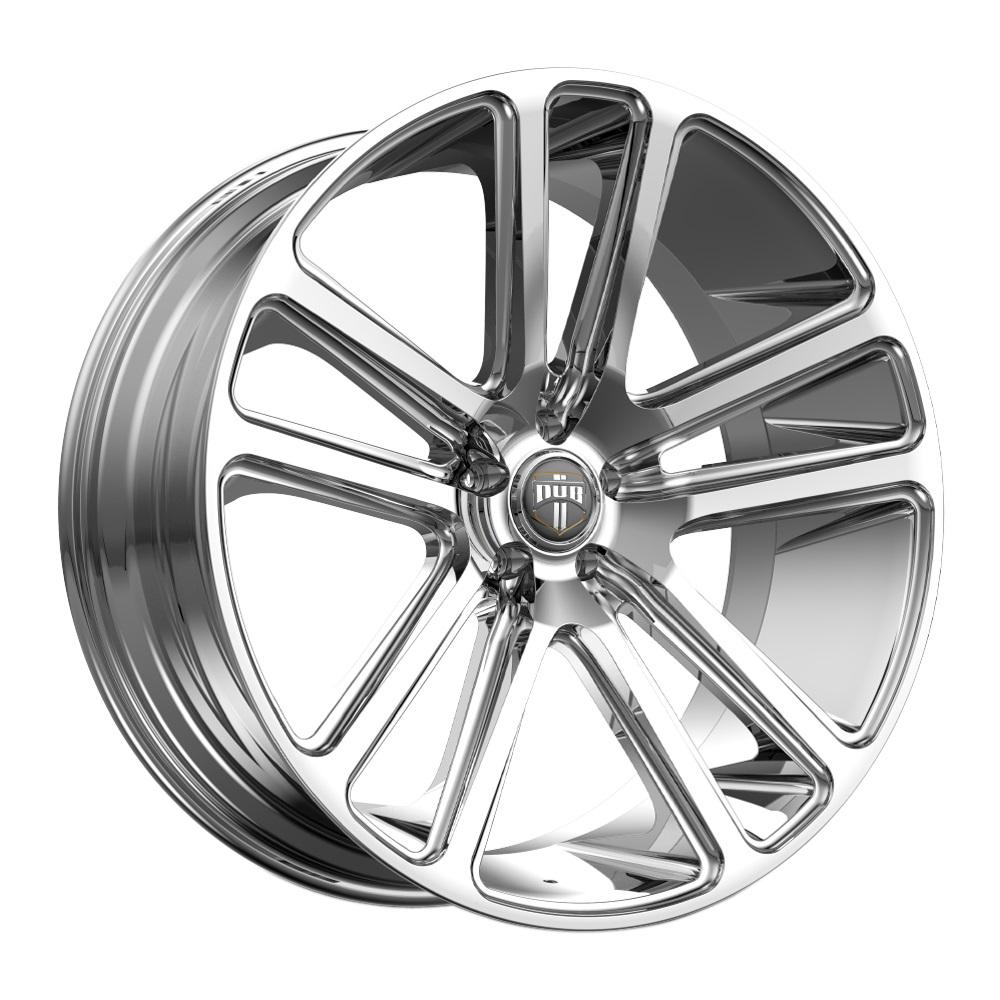 DUB Wheels Flex (S254) - Chrome Rim