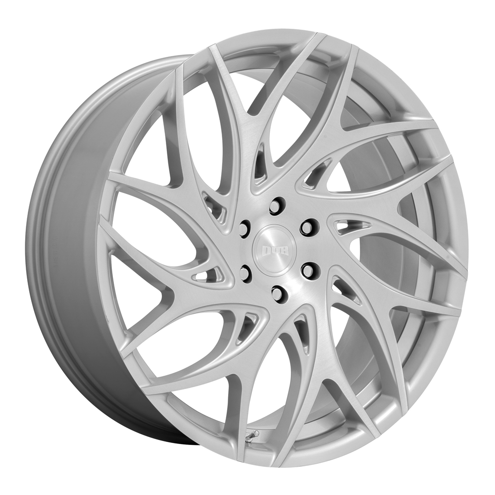 DUB Wheels S260 G.O.A.T. - Silver Brushed Face Rim