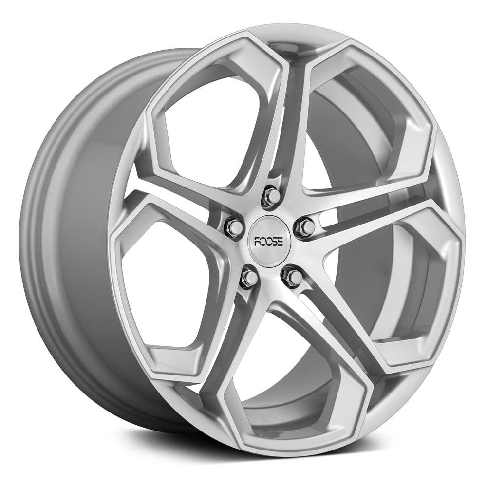 Foose Wheels Impala F170 - Gloss Silver with Machined Face Rim