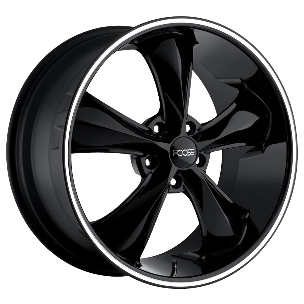 Foose Wheels Legend F104 - Gloss Black Rim