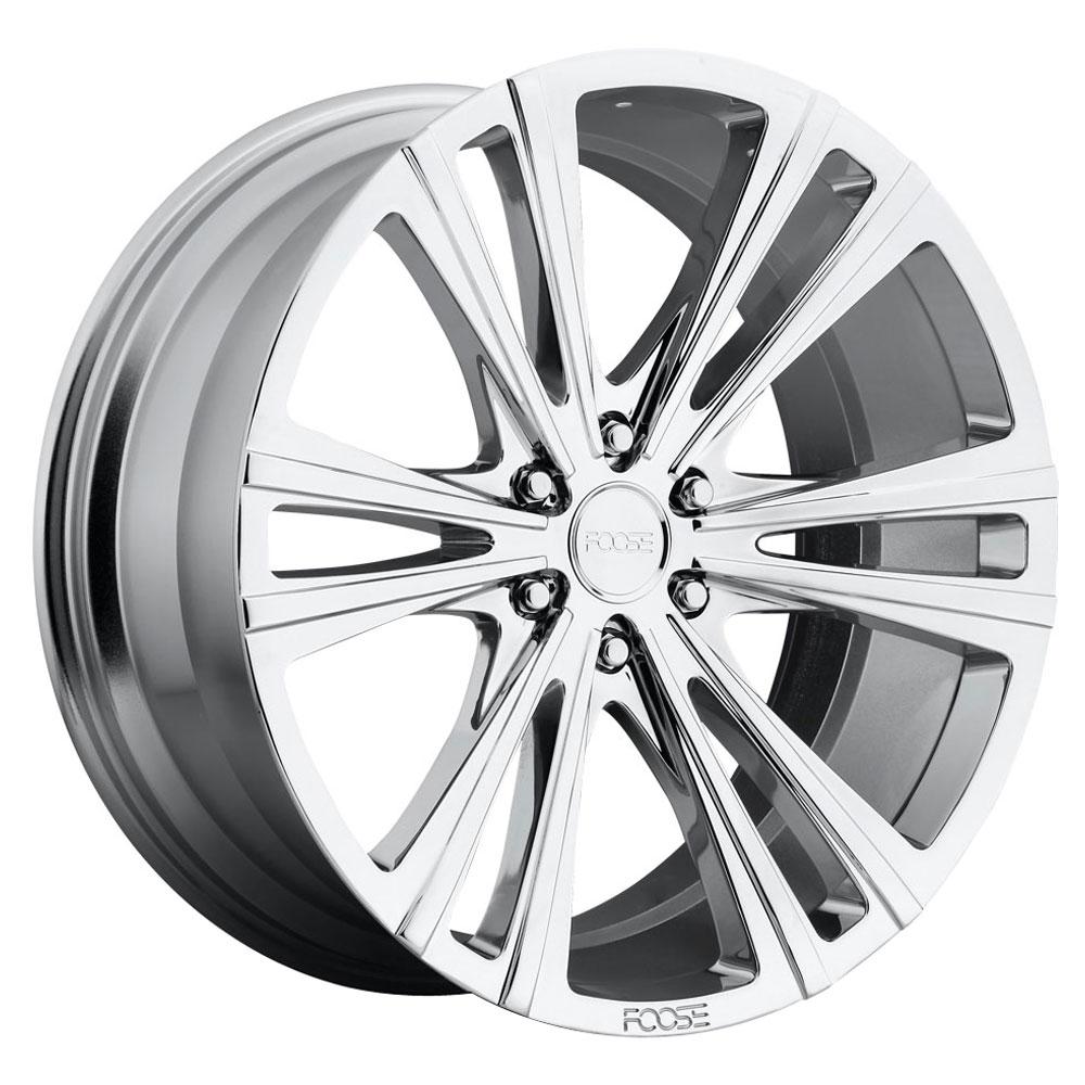 Foose Wheels Wedge F159 - Chrome Rim