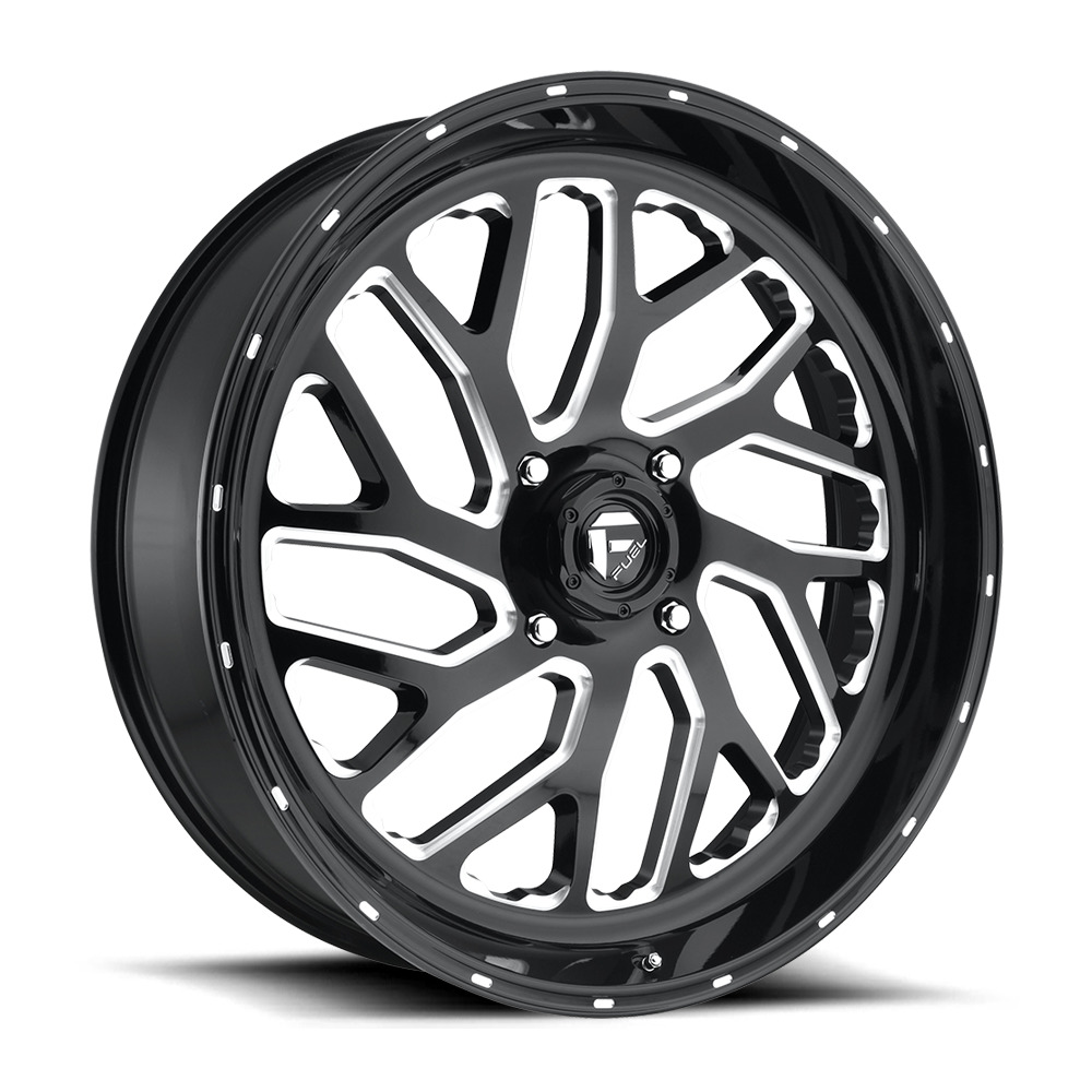 Triton D581 - Gloss Black / Milled