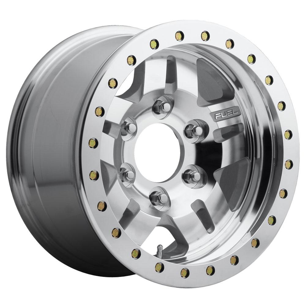 Fuel Wheels Anza Beadlock D116 - Raw Machined