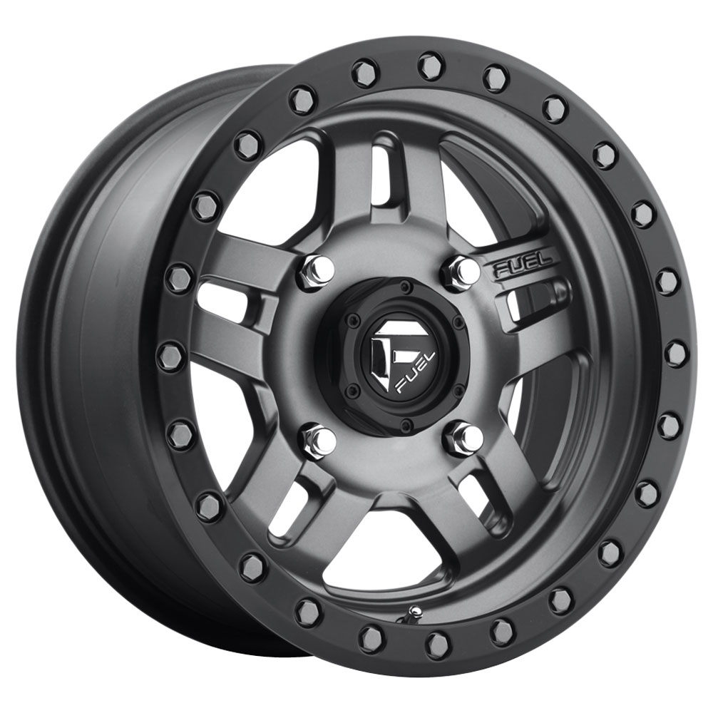 Anza D558 UTV - Matte Anthracite with Black Ring