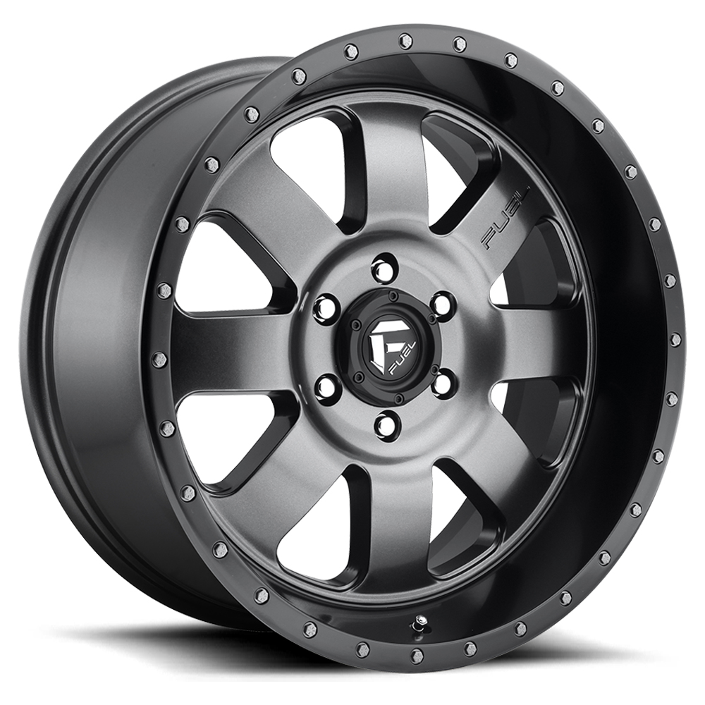Fuel Wheels Baja D628 - Anthracite with Black Lip