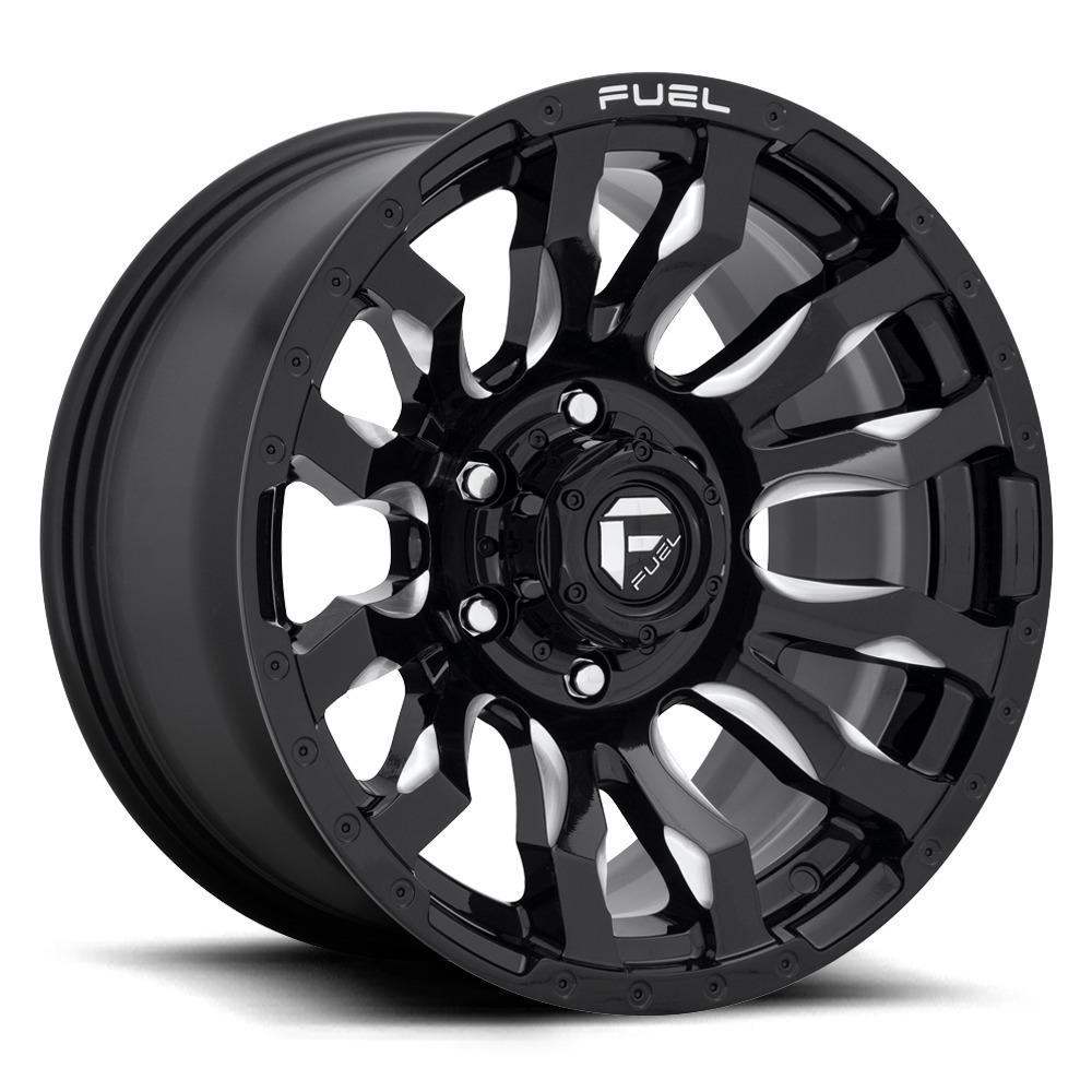 Fuel Wheels Blitz D673 - Gloss Black / Milled