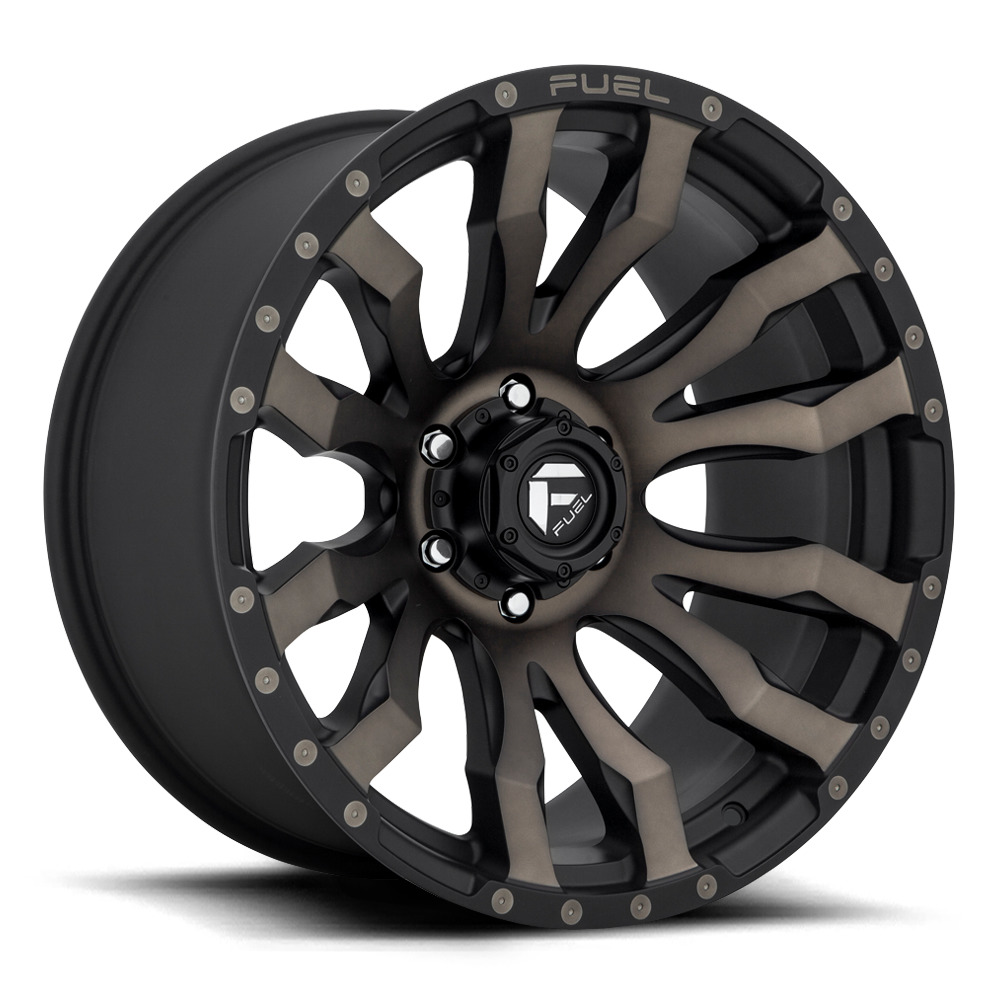 Blitz D674 - Matte Black / Machined / Dark Tint