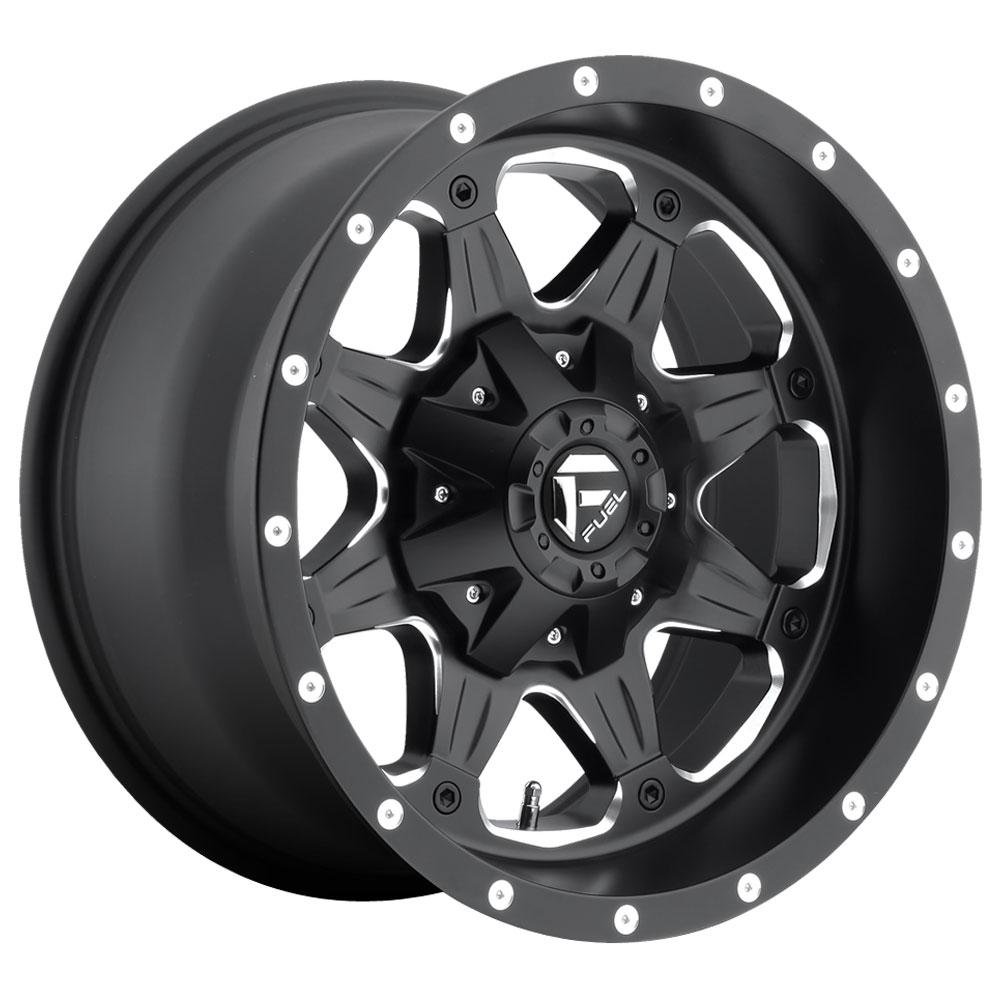 Fuel Wheels Boost D534 - Matte Black & Milled
