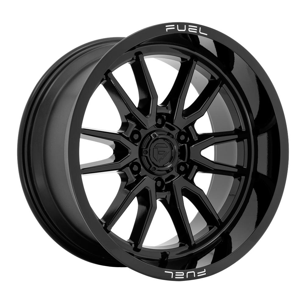 Fuel Wheels Clash 6 D760 - Gloss Black Rim
