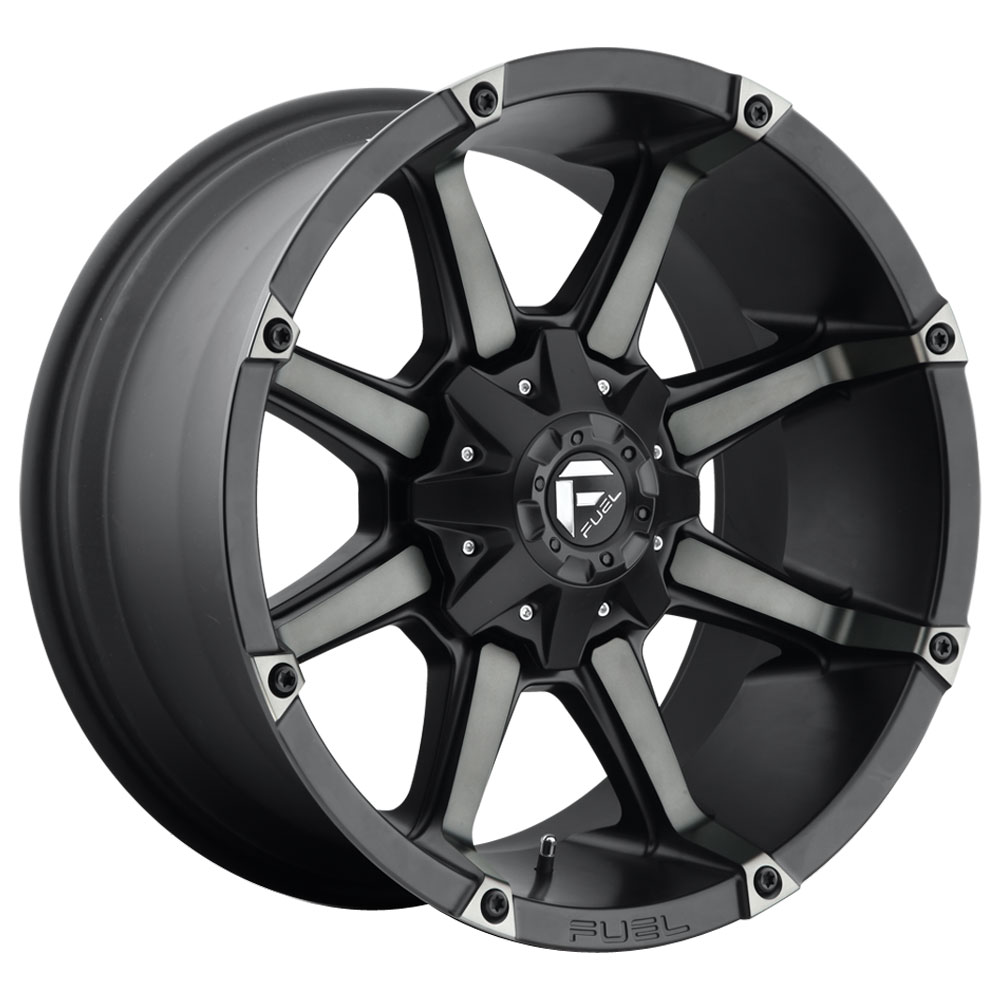Fuel Wheels Coupler D556 - Black & Machined with Dark Tint Rim