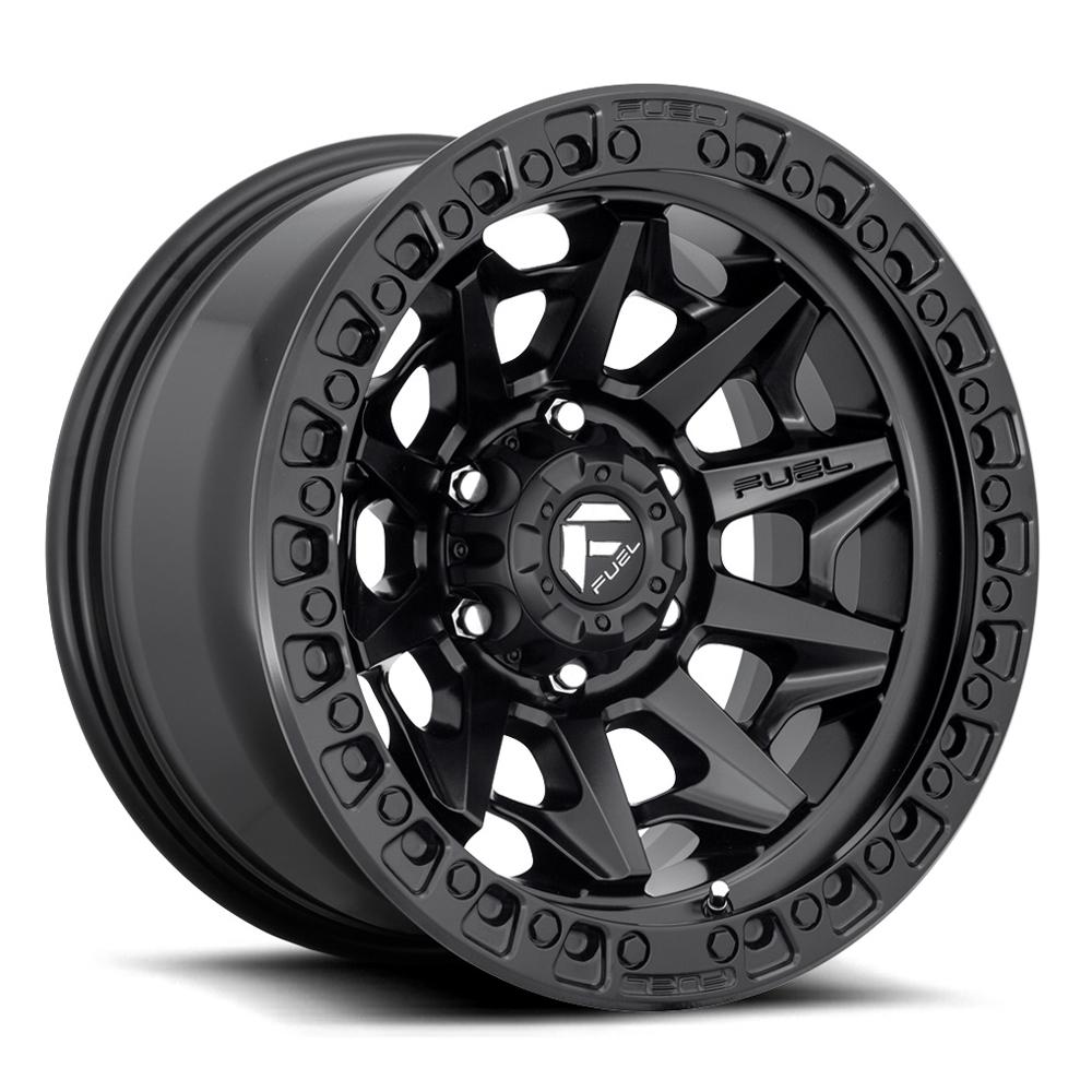 Fuel Wheels Covert D694 - Matte Black Rim