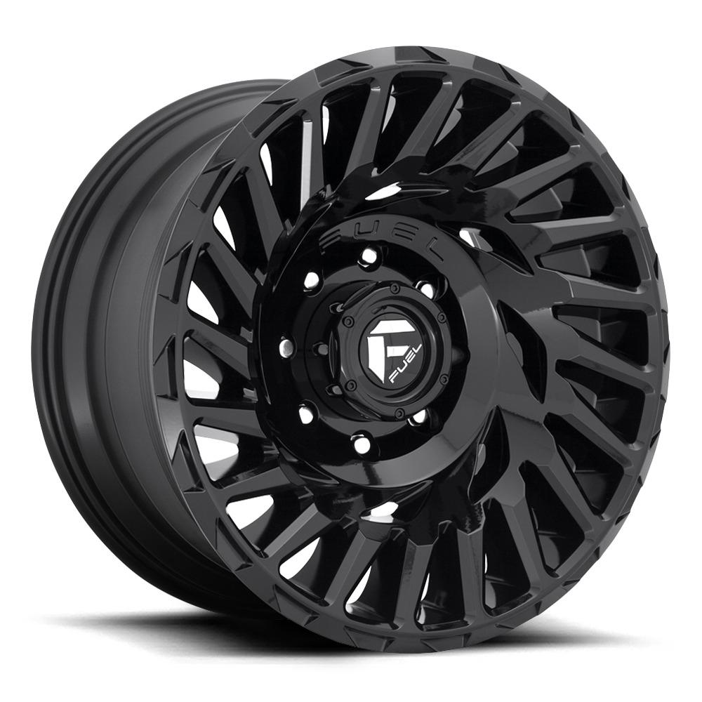 Fuel Wheels Cyclone D682 - Gloss Black