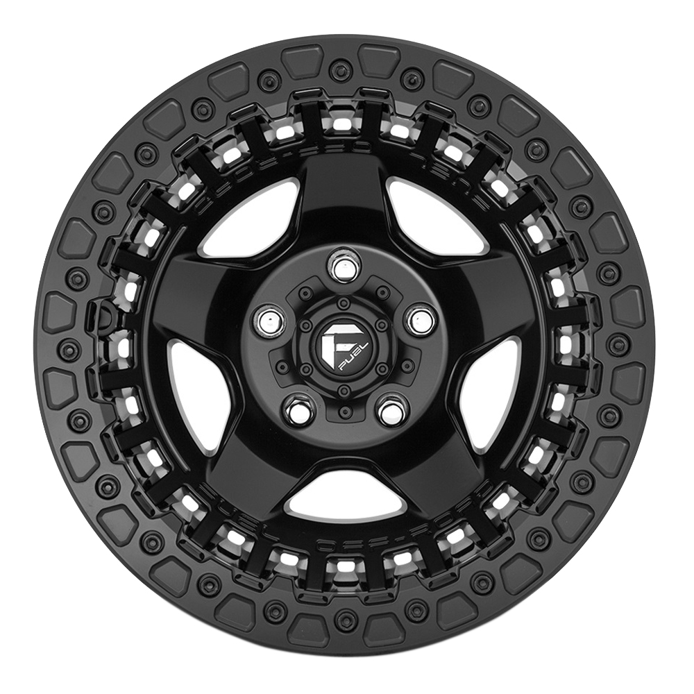 Fuel Wheels D118 Warp - Matte Black Rim