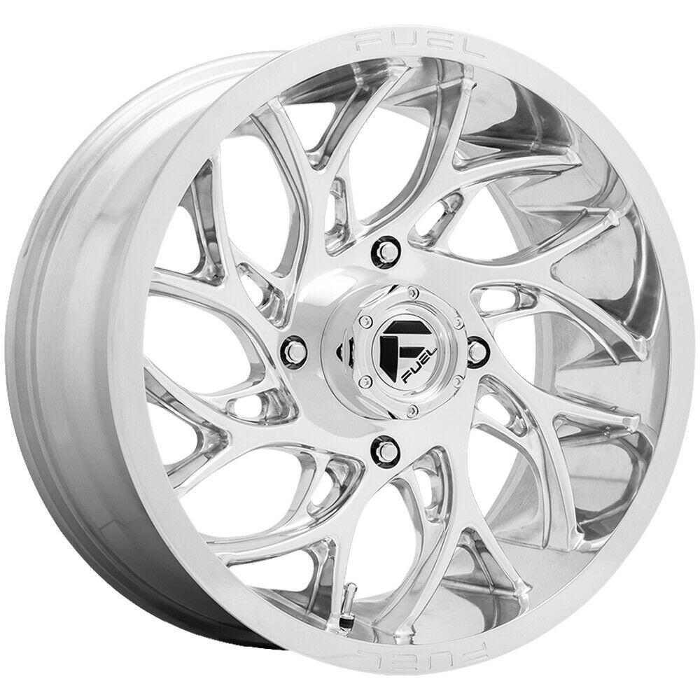 Fuel Wheels D204 Runner - Polished Rim
