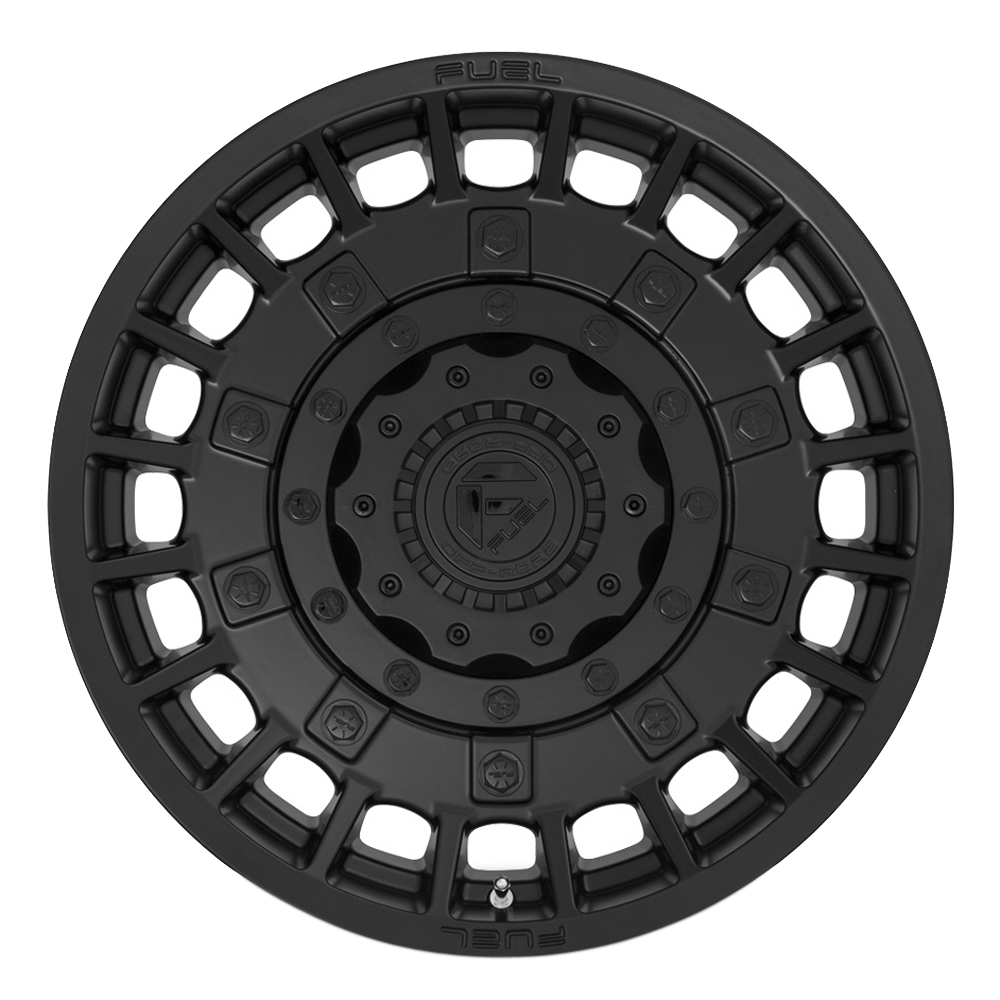 Fuel Wheels D723 Militia - Matte Black Rim