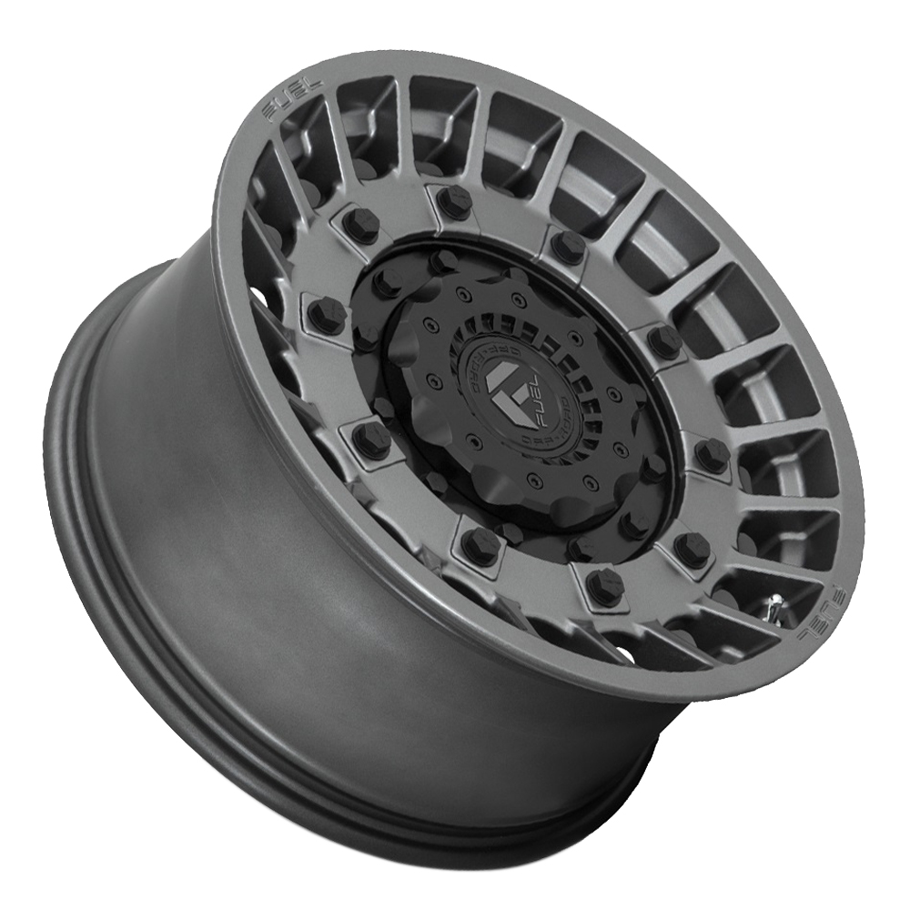 Fuel Wheels D726 Militia - Anthracite w/ Matte Black Rim