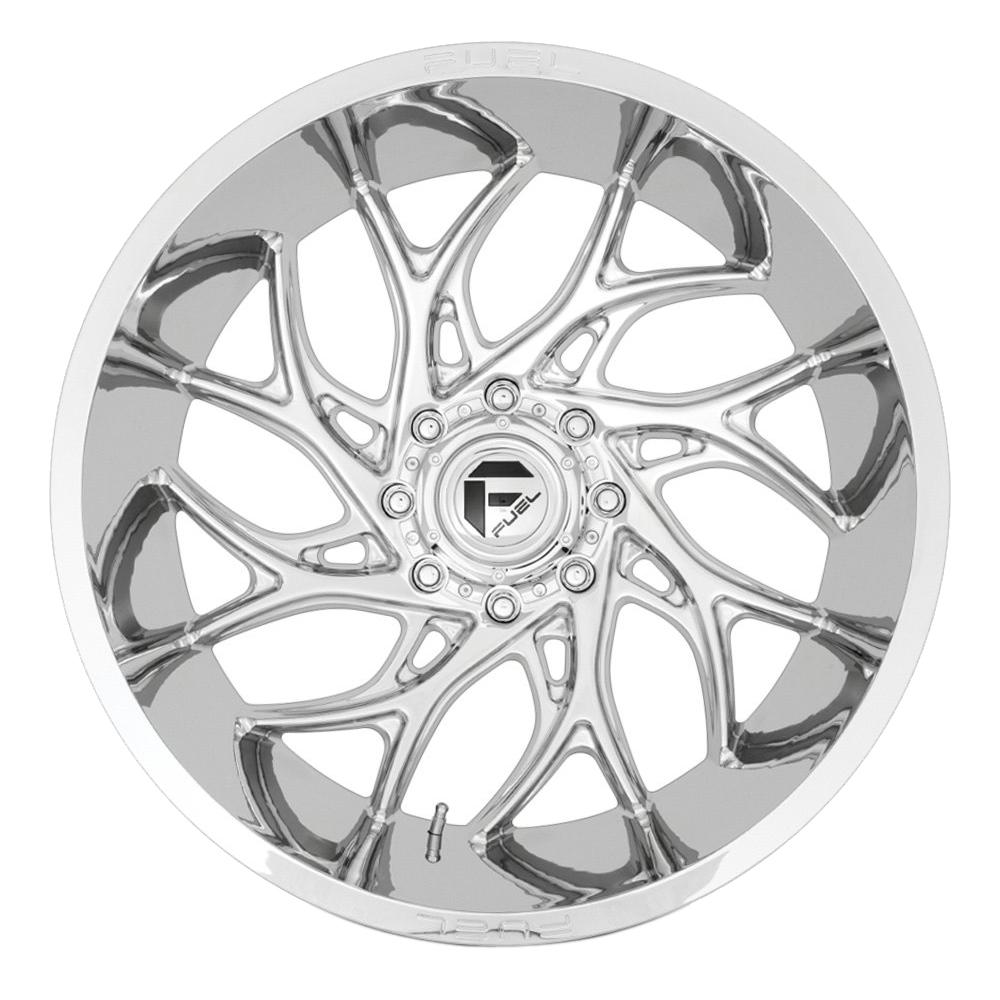 Fuel Wheels D740 Runner - Chrome Rim