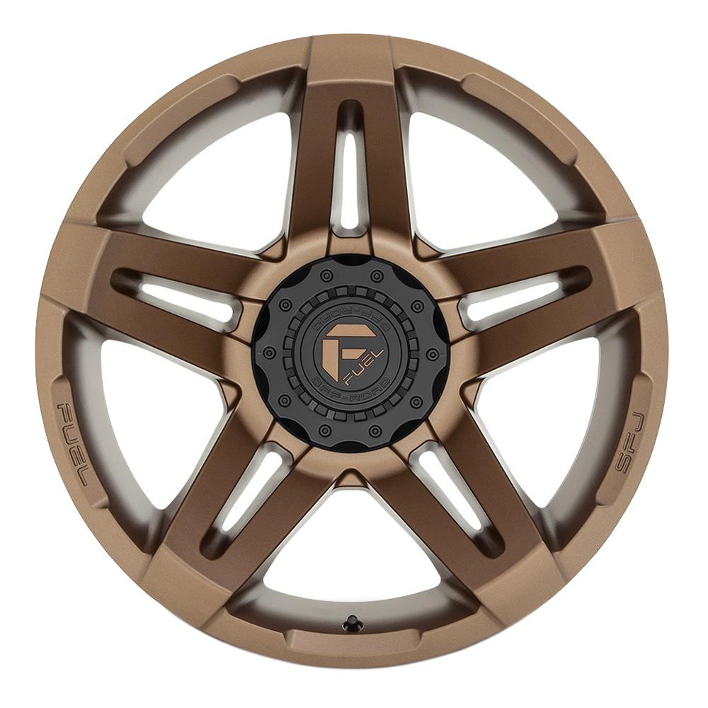 Fuel Wheels D765 SFJ - Matte Bronze Rim