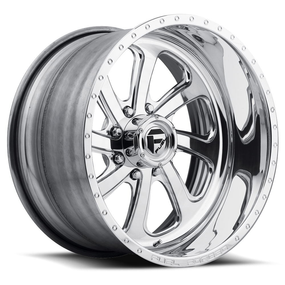 Fuel Wheels FF12 DE12 - Polished