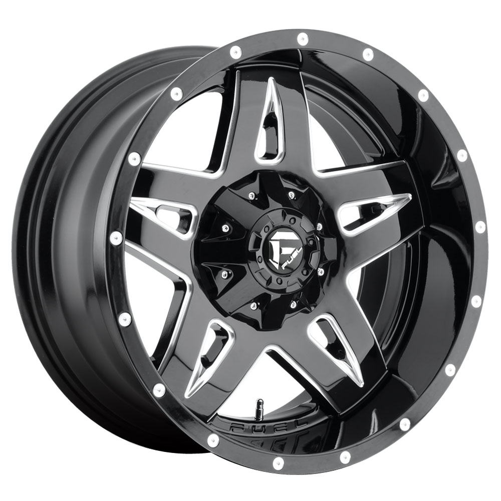 Full Blown D554 - Gloss Black & Milled
