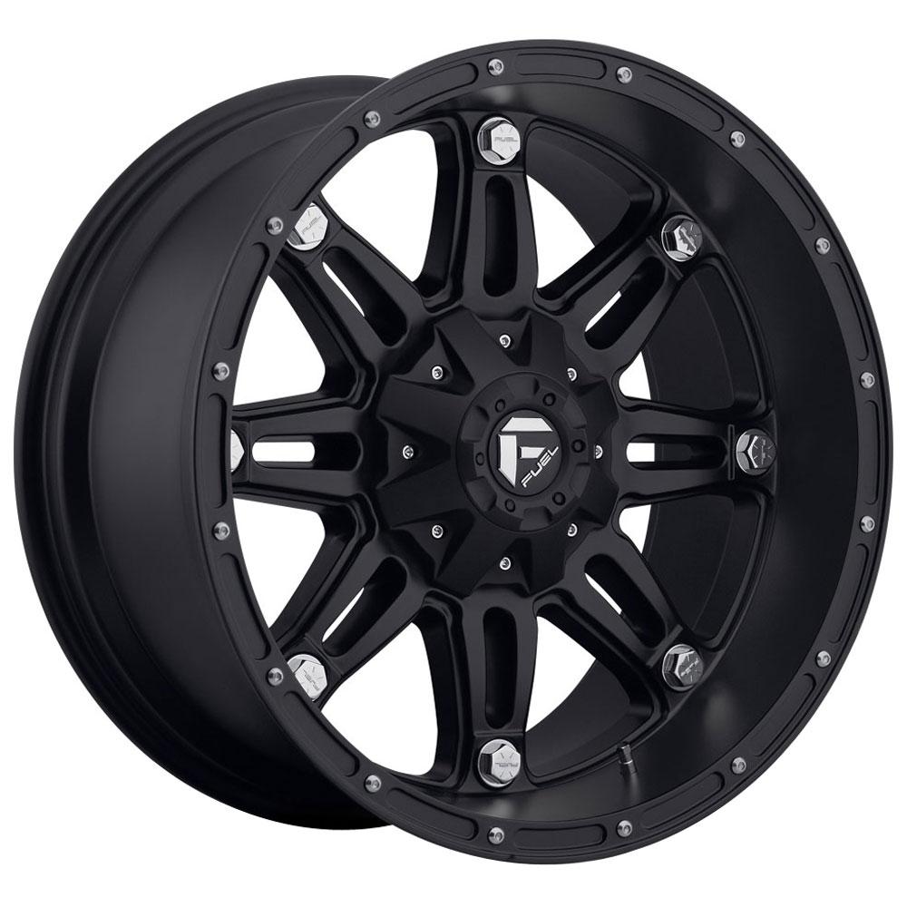 Fuel Wheels Hostage D531 - Matte Black
