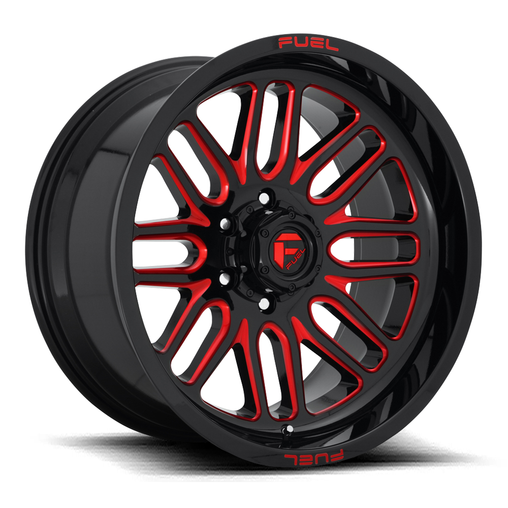 Ignite D663 - Gloss Black with Candy Red