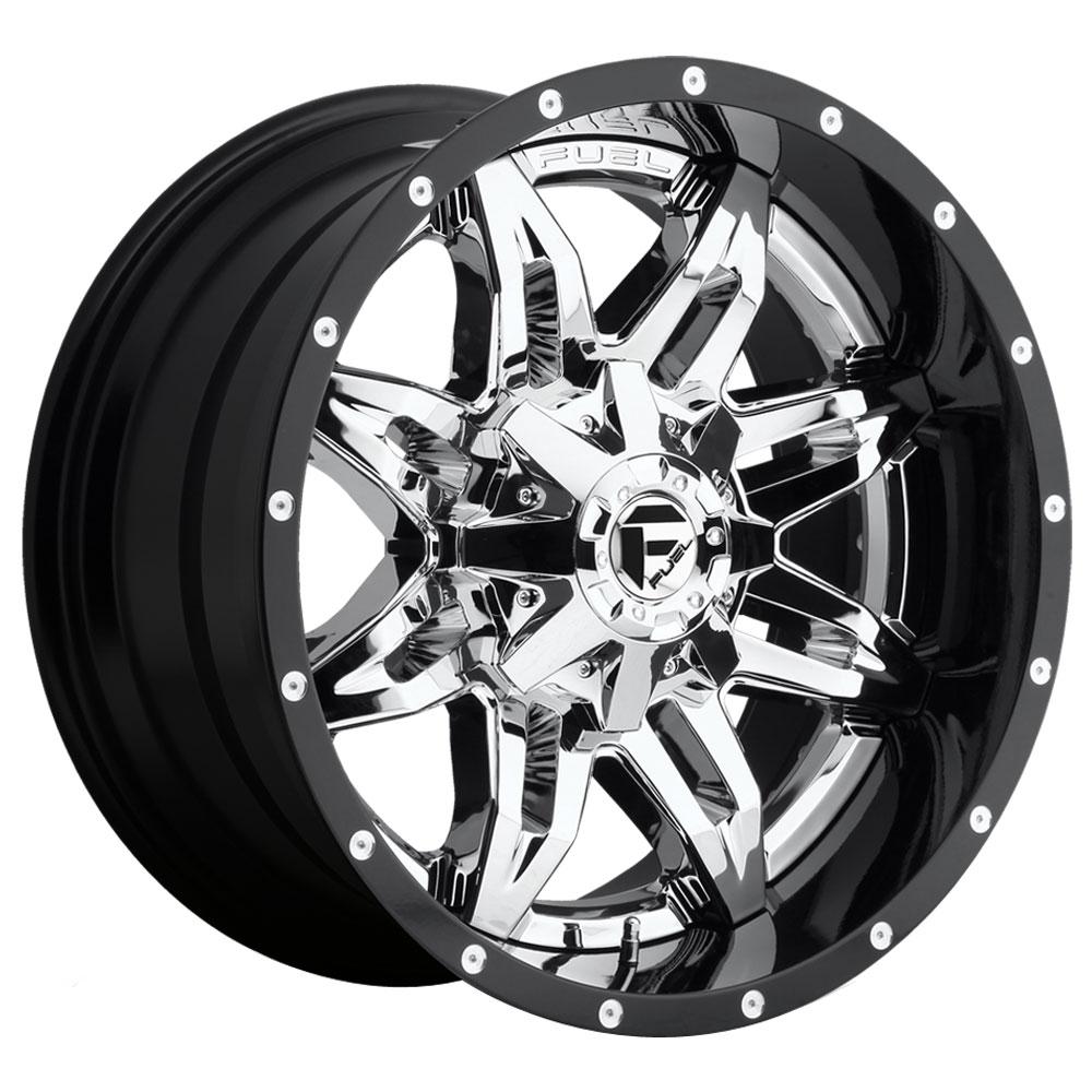 Fuel Wheels Lethal D266 - Chrome