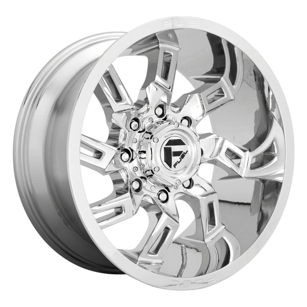 Fuel Wheels Lockdown D746 - Chrome Rim