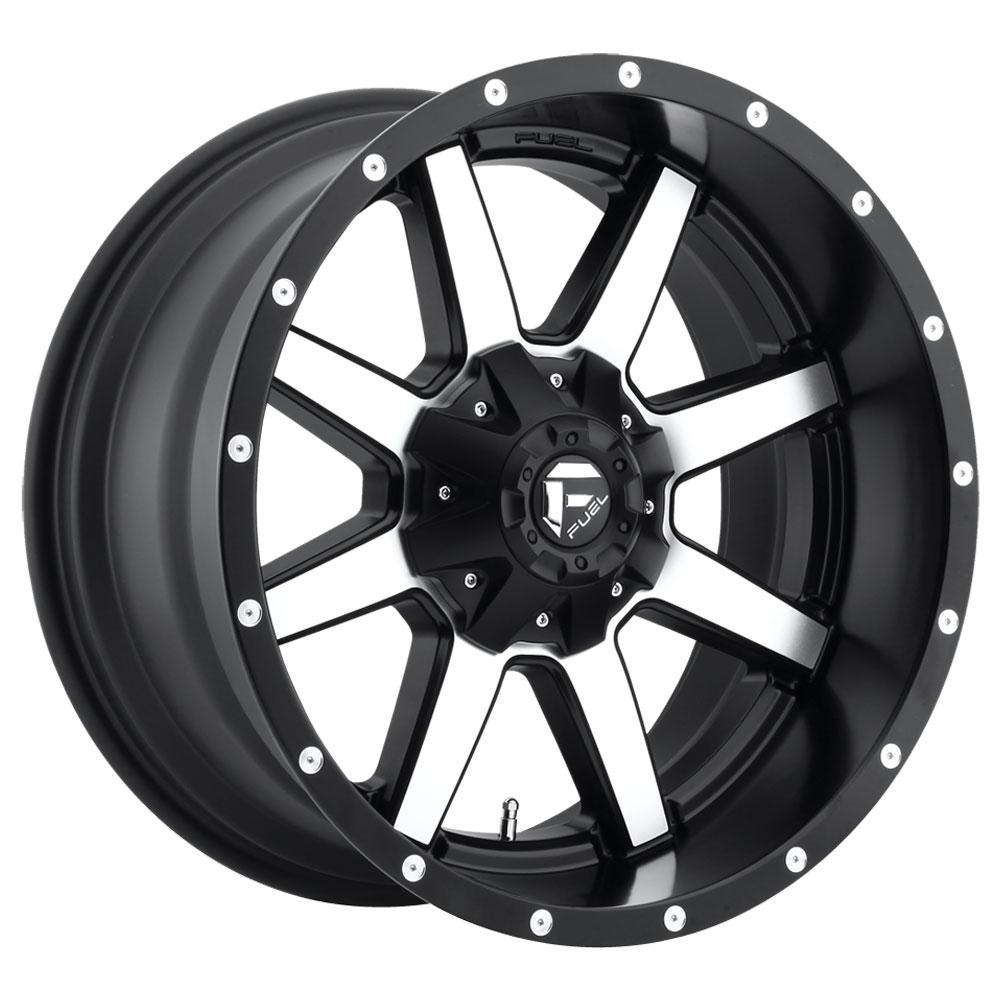 Fuel Wheels Maverick D537 - Black & Machined
