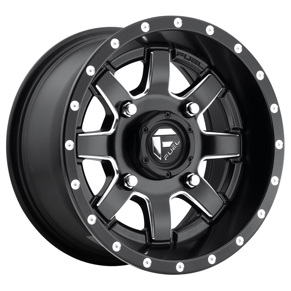 Maverick D538 UTV - Black & Milled - 26x7