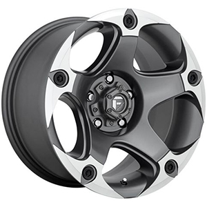 Menace D684 - Matte Anthracite / Machined
