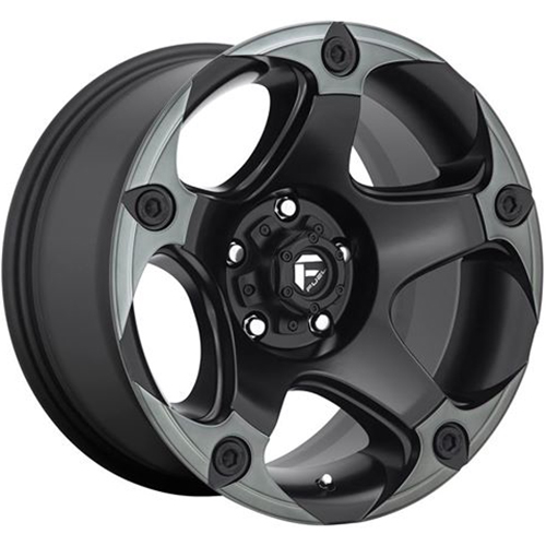 Fuel Wheels Menace D685 - Matte Black / Machined / Dark Tint